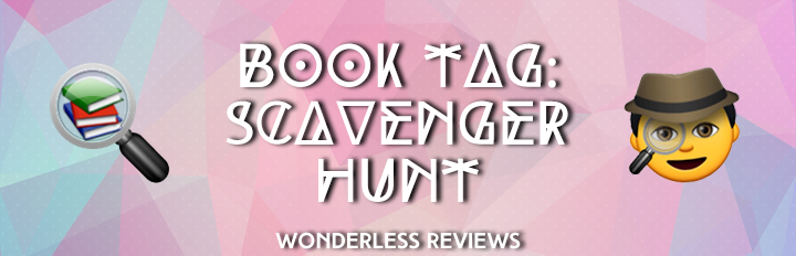 Scavenger Hunt Book Tag