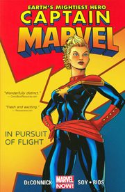 Captain Marvel, Vol. 1: In Pursuit of Flight by Kelly Sue DeConnick