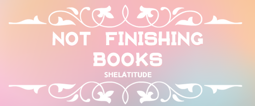 Not Finishing Books