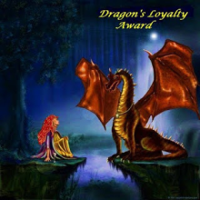 Dragon's Loyalty Award nominated by Kourtni @ Kourtni Reads