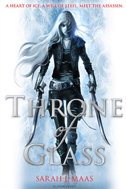 Throne of Glass Series by Sarah J. Maas