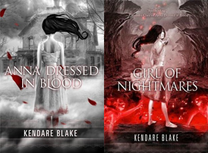 Anna series by Kendare Blake