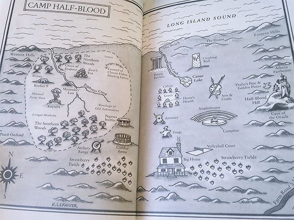 Camp Half-Blood - The Hidden Oracle by Rick Riordan