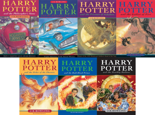 Harry Potter series by J.K. Rowling