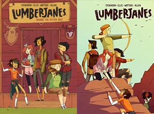 Lumberjanes by Noelle Stevenson