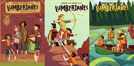 Lumberjanes series by Noelle Stevenson