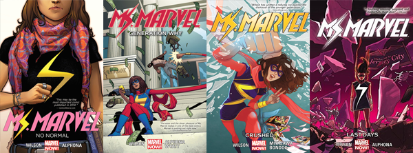 Ms. Marvel by G. Willow Wilson