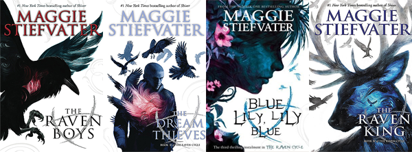 The Raven Cycle series by Maggie Stiefvater