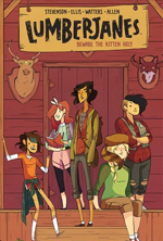 Lumberjanes Vol. 1 Beware the Kitten Holy by Noelle Stevenson