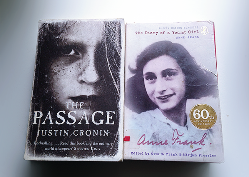 The Passage by Justin Cronin The Diary of a Young Girl by Anne Frank