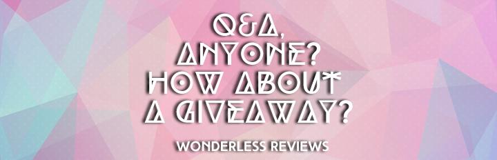 Blogoversary QANDA Giveaway