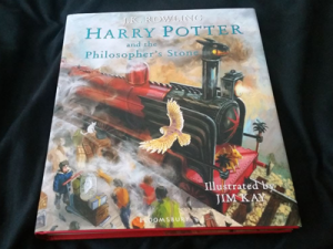 Harry Potter and the Philosopher's Stone by J.K. Rowling 1