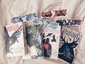 The Raven Cycle series by Maggie Stiefvater 1