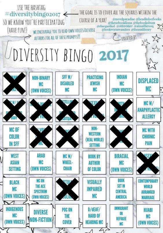 Diversity Bingo 2017