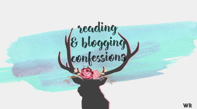Reading and Blogging Confessions